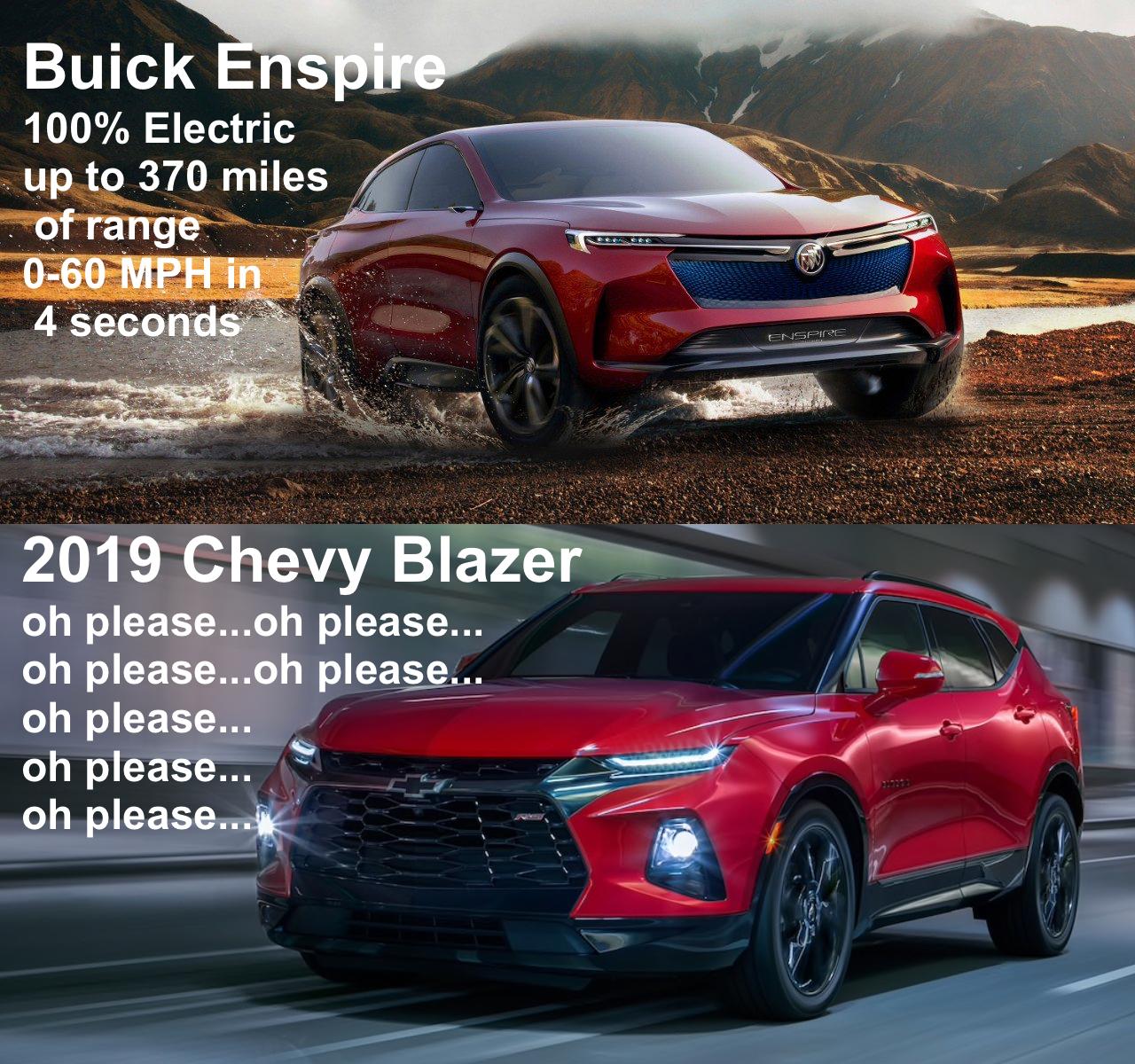 Buick Enspire Vs Chevy Blazer